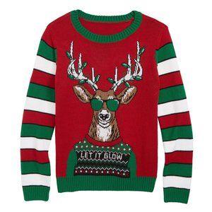 Tucker + Tate Let It Glow Boys Christmas Sweater